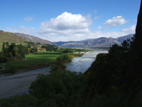 Hanmer Springs River, New Zealand