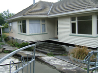 Earthquake Damage, New Zealand