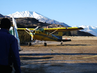 Glenorchy Airport, New Zealand