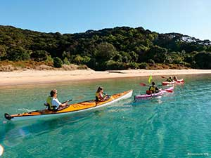 Kayaking the Bay of Islands, Northland, New zealand. Copyright: Adventure HQ
