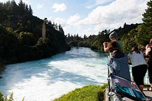 Huka Falls in Taupo, New Zealand. Copyright: Paul Abbitt